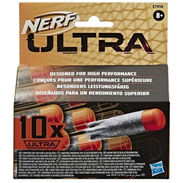 Obrázek produktu NERF ULTRA náhradní šipky 10ks, Hasbro E7958