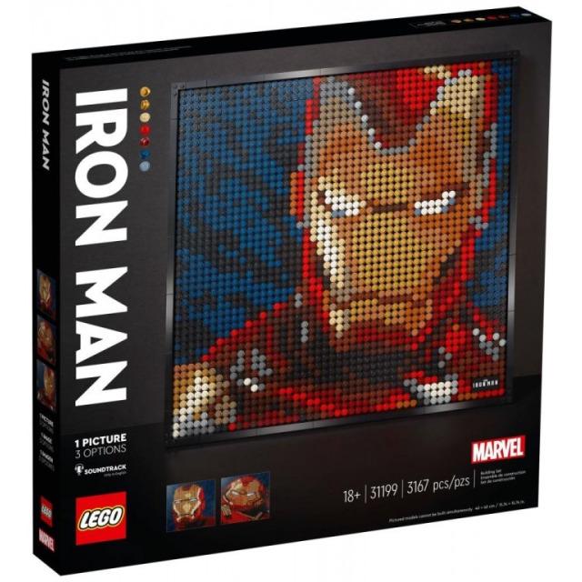 Obrázek produktu LEGO Art 31199 Marvel Studios Iron Man