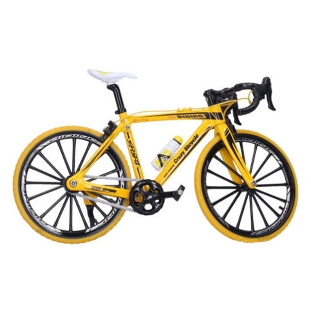Obrázek produktu Jízdní kolo kovové 22 cm žluté, Wiky