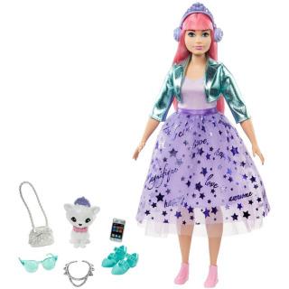 Obrázek 1 produktu Barbie Adventure Stylová princezna Daisy se sluchátky, Mattel GML77