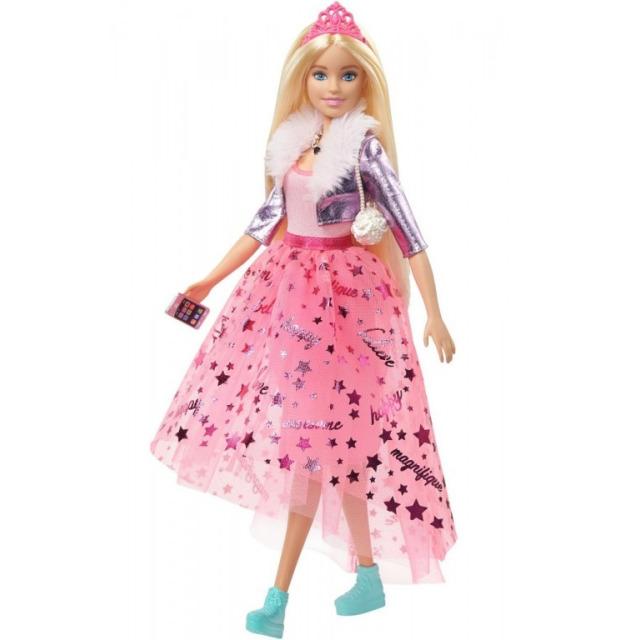 Obrázek produktu Barbie Adventure Stylová princezna s korunkou, Mattel GML76