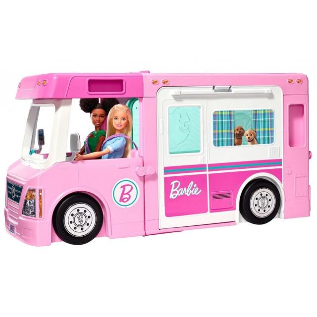 Obrázek produktu Mattel Barbie Karavan snů 3v1, GHL93