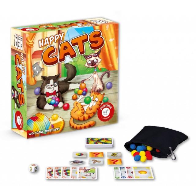 Obrázek produktu Happy Cats, hra Piatnik