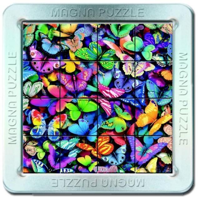 Obrázek produktu Piatnik 3D Magnetické puzzle Motýli