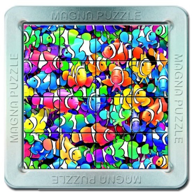 Obrázek produktu Piatnik 3D Magnetické puzzle Rybičky