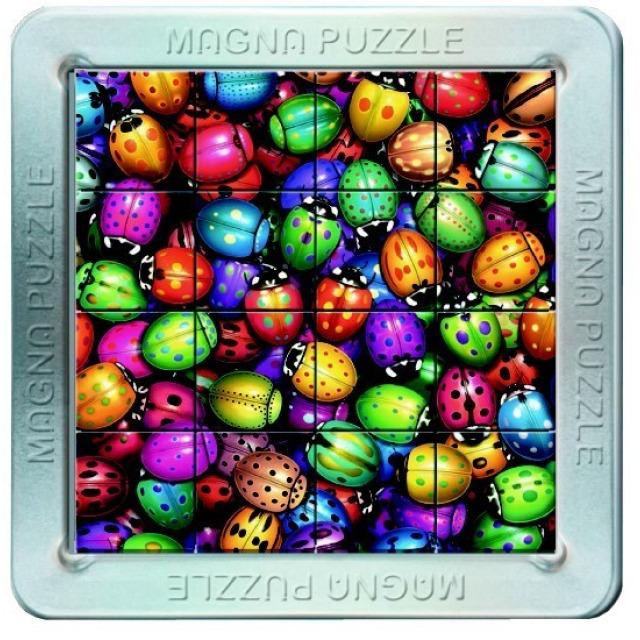 Obrázek produktu Piatnik 3D Magnetické puzzle Berušky