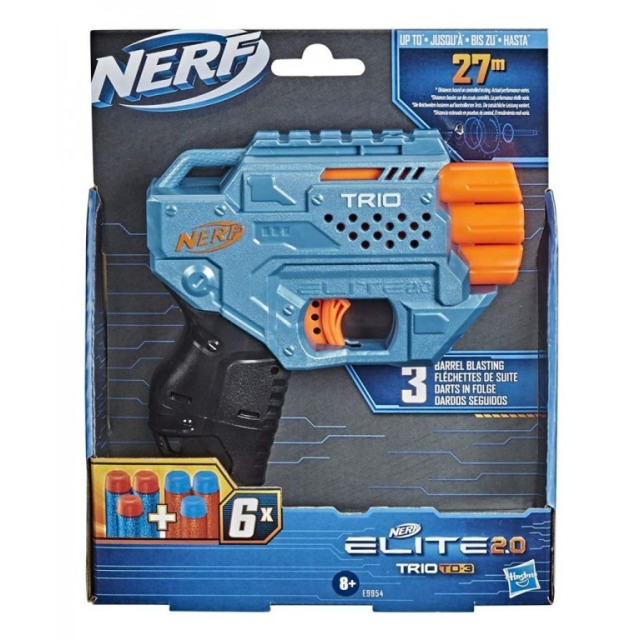 Obrázek produktu NERF Elite 2.0 TRIO TD-3 Pistole