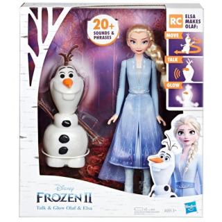 Obrázek 1 produktu Frozen Ledové království 2 Olaf a Elsa, Hasbro E5508
