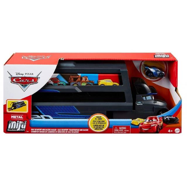 Obrázek produktu Cars 3 Mini transportér Jackson Storm, Mattel GNW35