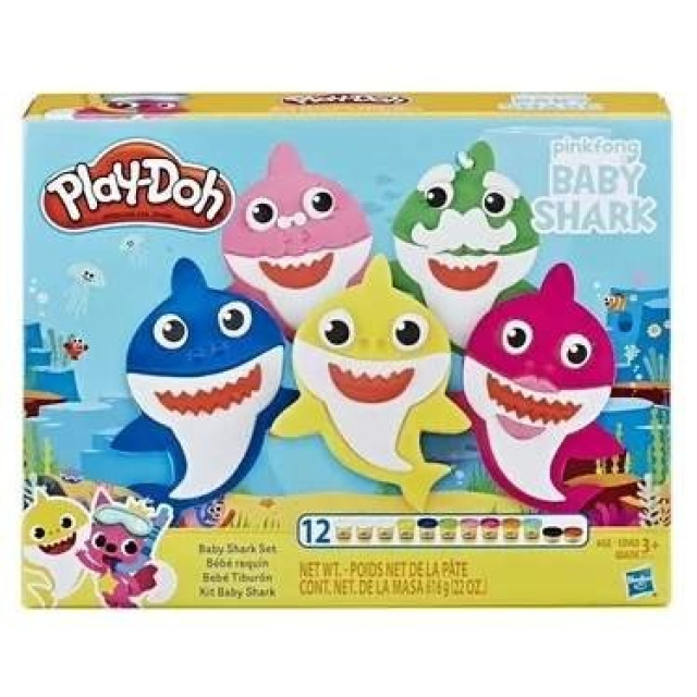 Obrázek produktu Hasbro Play Doh Baby Shark, E8141
