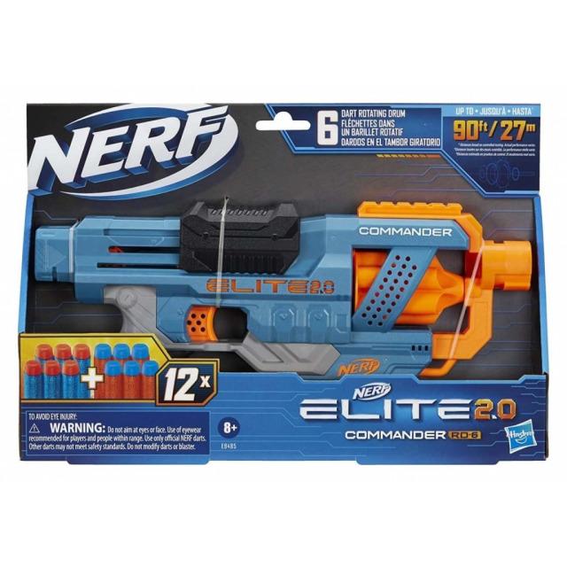 Obrázek produktu NERF Elite 2.0 COMMANDER RD-6 Pistole