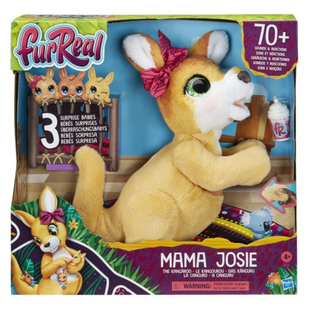 Obrázek produktu FurReal Friends Klokanice Josefínka, Hasbro E6724