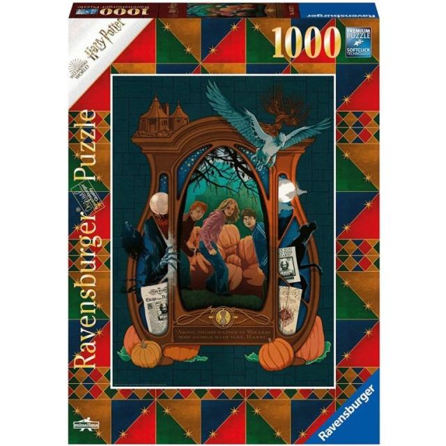Obrázek produktu Ravensburger 16517 Puzzle Harry Potter Haloween 1000 dílků