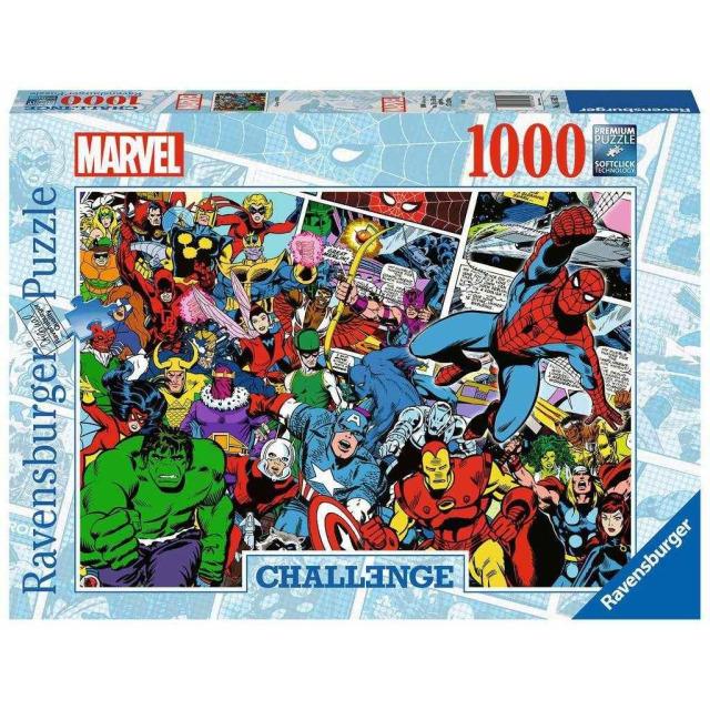 Obrázek produktu Ravensburger 16562 Puzzle Marvel výzva 1000 dílků