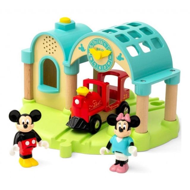 Obrázek produktu BRIO 32270 Nádraží Myšáka Mickeyho s nahráváním zvuku