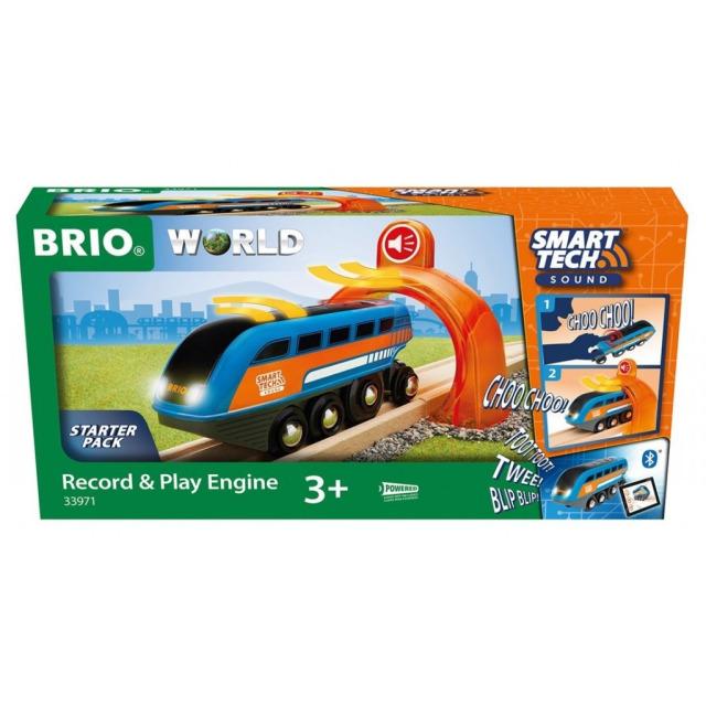 Obrázek produktu BRIO 33971 SMART TECH SOUND Nahrávací lokomotiva