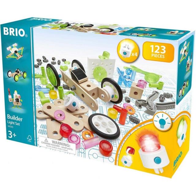 Obrázek produktu BRIO Builder 34593 Stavebnice Světelná sada