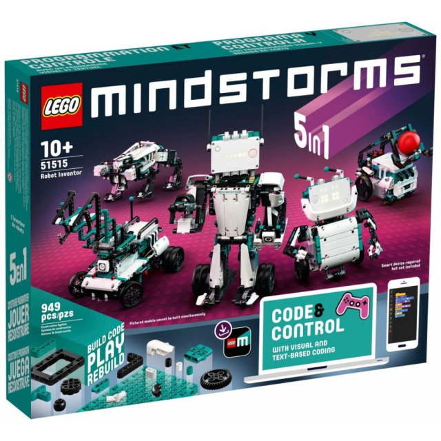 Obrázek produktu LEGO MINDSTORMS 51515 Robotí vynálezce