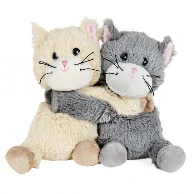 Obrázek produktu Hřejivá plyš pár Kočičky 25 cm