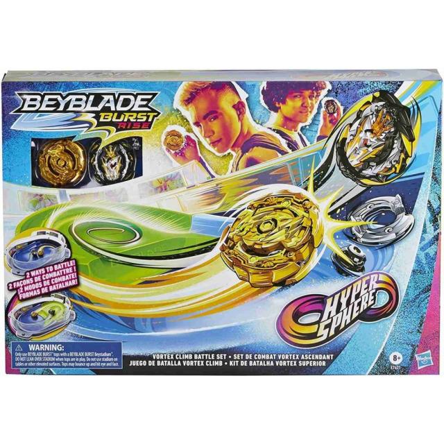 Obrázek produktu BeyBlade Burst Rise Hypersphere Vortex Climb Aréna se 2 kotouči, Hasbro E7621