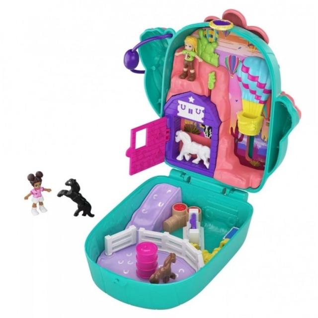 Obrázek produktu Polly Pocket Mikro Kaktus Ranč kovbojky, Mattel GKJ46/FRY35