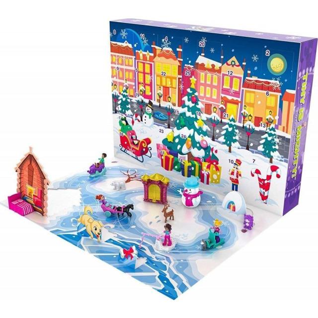Obrázek produktu Mattel Adventní kalendář Polly Pocket, GKL46