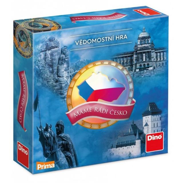 Obrázek produktu DINO Máme rádi Česko, rodinná hra