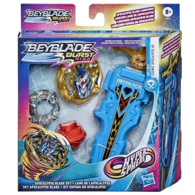 Obrázek produktu BeyBlade Burst Rise Hypersphere kotouč Cosmic Apocalypse A5 s odpalovačem, Hasbro F0655