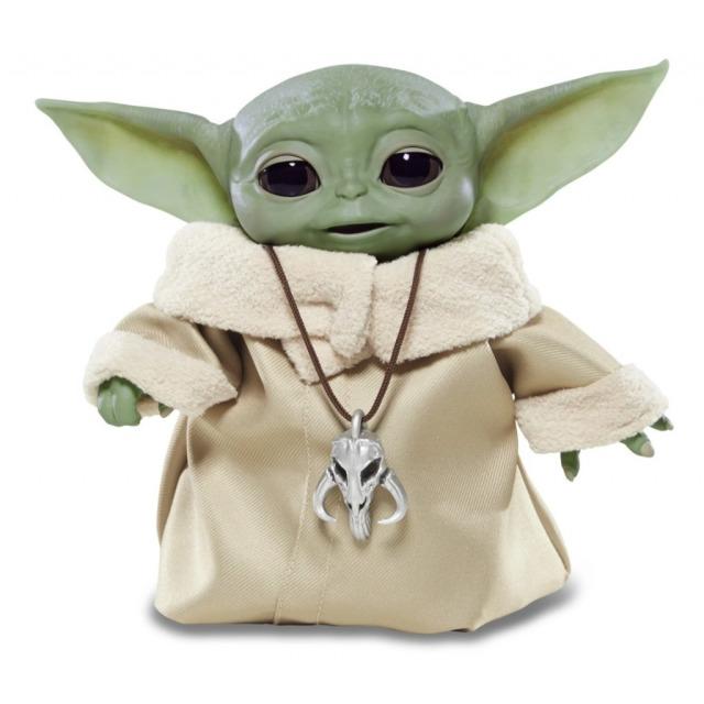 Obrázek produktu Star Wars Baby Yoda interaktivní kamarád, Hasbro F1119