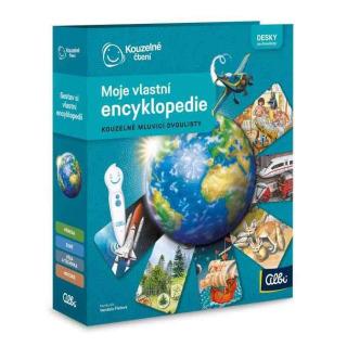 Obrázek 1 produktu Albi Kouzelné čtení Moje vlastní encyklopedie - pořadač