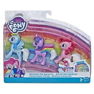 Obrázek 1 produktu MLP My Little Pony - Sada 3 poníků Rainbow Tail