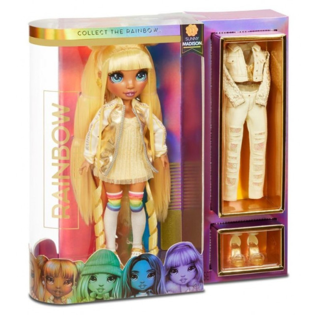 Obrázek produktu MGA Rainbow High Fashion panenka SUNNY MADISON