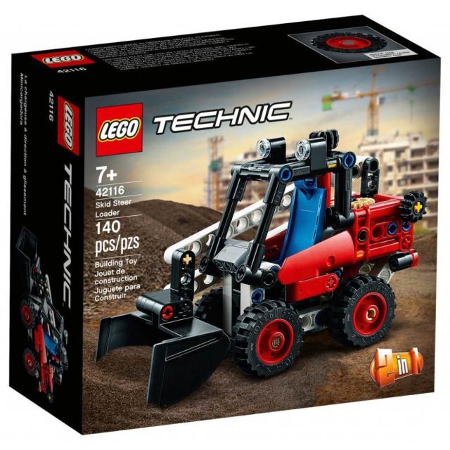 Obrázek produktu LEGO TECHNIC 42116 Smykový nakladač