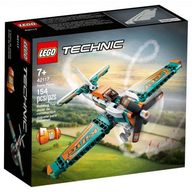 Obrázek produktu LEGO TECHNIC 42117 Závodní letadlo