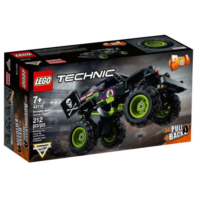 Obrázek produktu LEGO TECHNIC 42118 Monster Jam® Grave Digger®