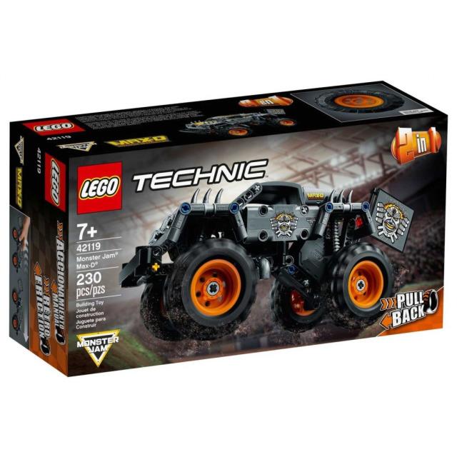 Obrázek produktu LEGO TECHNIC 42119 Monster Jam® Max-D®