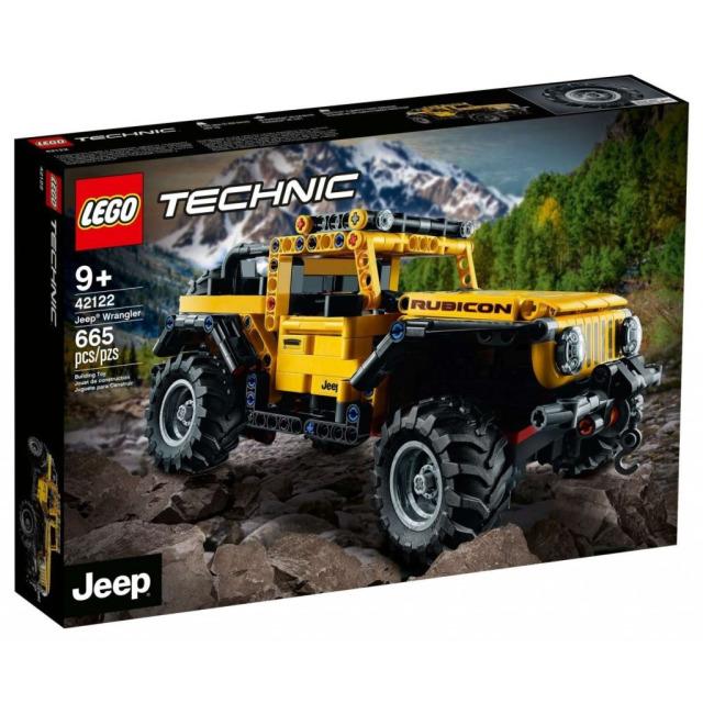 Obrázek produktu LEGO TECHNIC 42122 Jeep® Wrangler