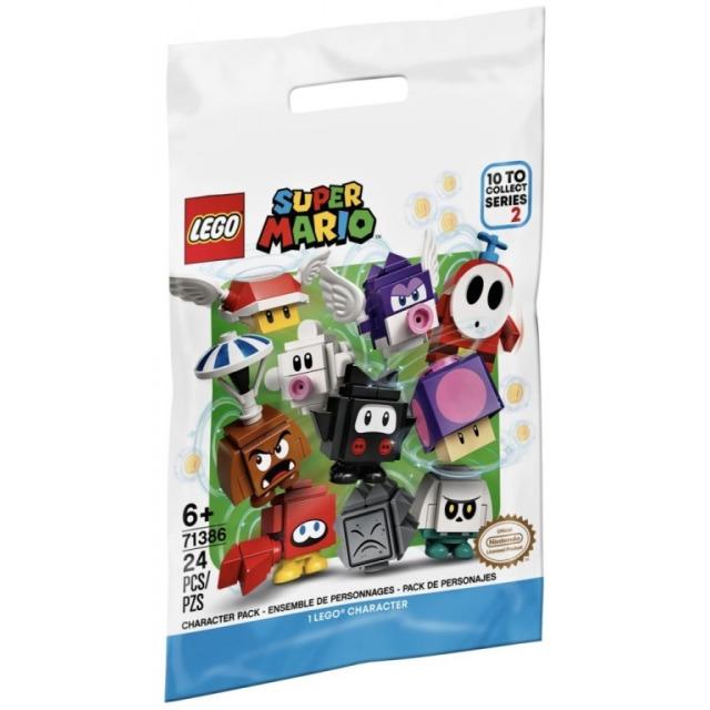 Obrázek produktu LEGO SUPER MARIO 71386 Akční kostky – 2. série