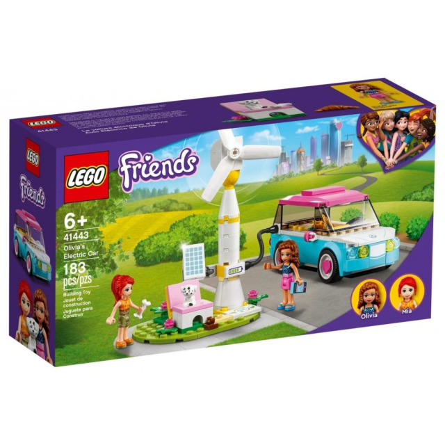 Obrázek produktu LEGO Friends 41443 Olivia a její elektromobil