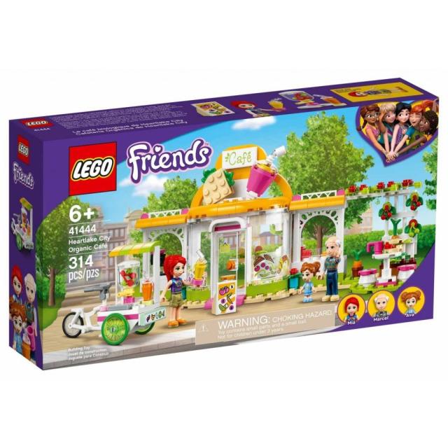 Obrázek produktu LEGO Friends 41444 Bio kavárna v městečku Heartlake