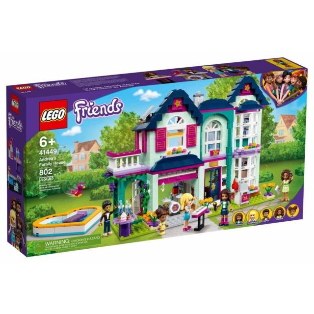 Obrázek produktu LEGO Friends 41449 Andrea a její rodinný dům