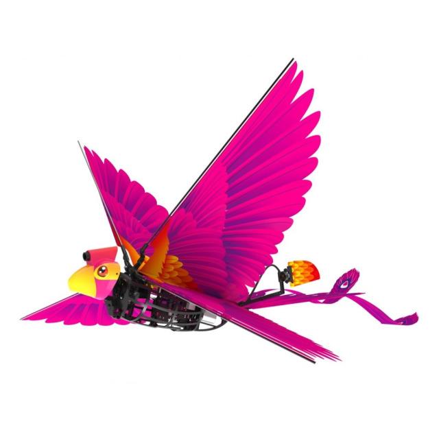 Obrázek produktu R/C Go Go Bird 18 cm létající s USB fialový 2,4GHz
