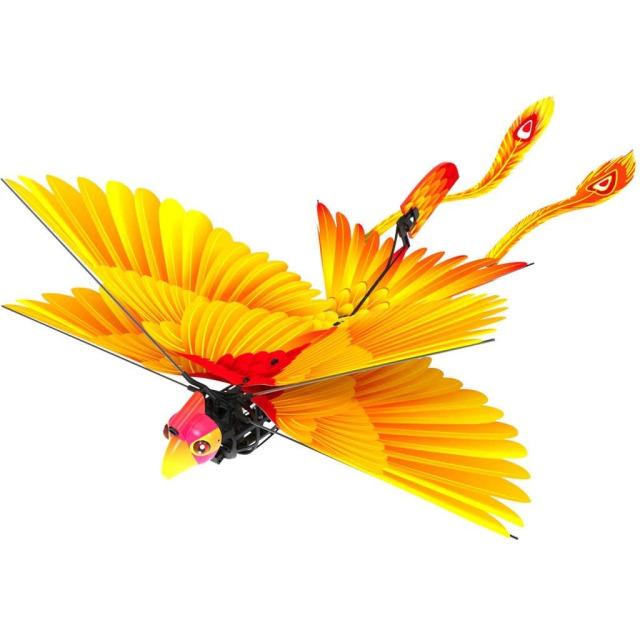 Obrázek produktu R/C Go Go Bird 18 cm létající s USB žlutý 2,4GHz
