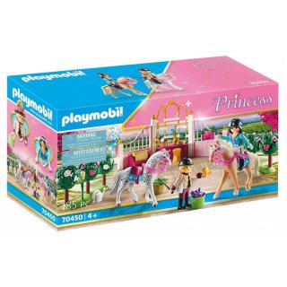 Obrázek 1 produktu Playmobil 70450 Výuka jízdy na koni