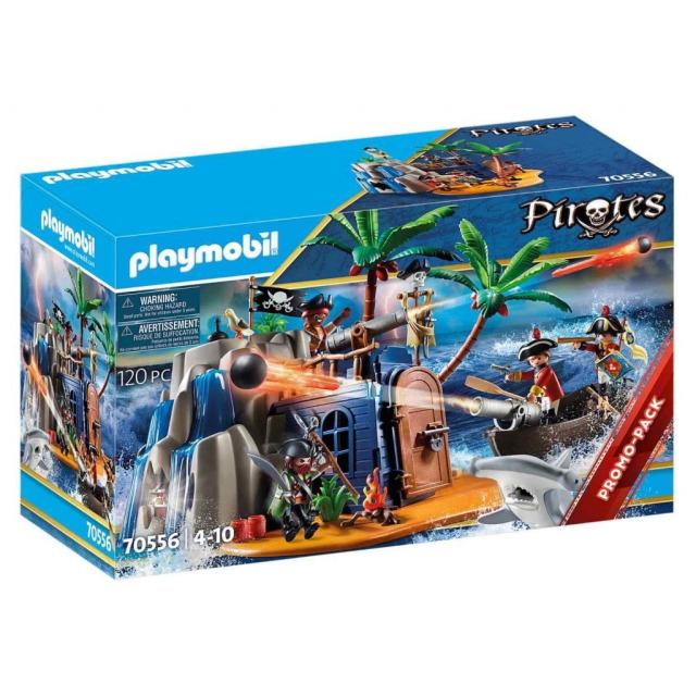 Obrázek produktu Playmobil 70556 Pirátský ostrov s ukrytým pokladem