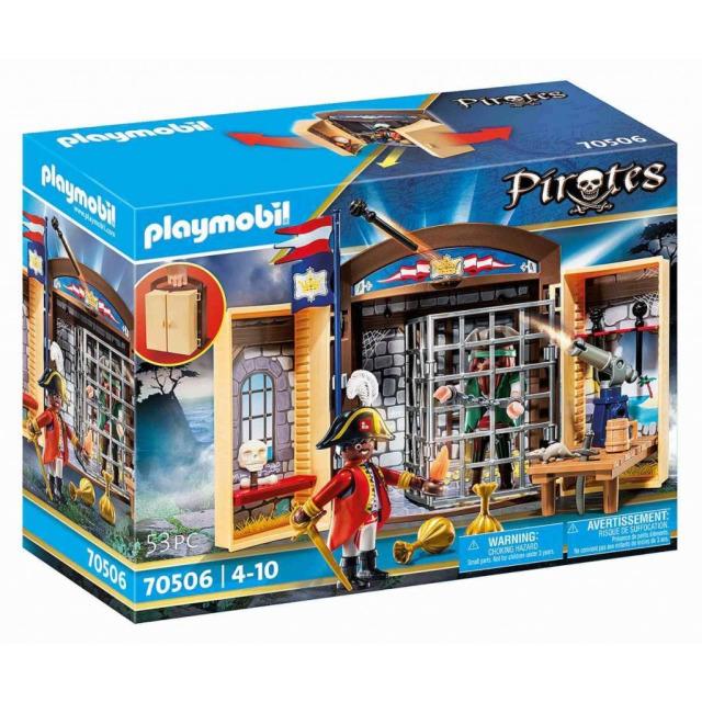 Obrázek produktu Playmobil 70506 Přenosný box Pirátské dobrodružství