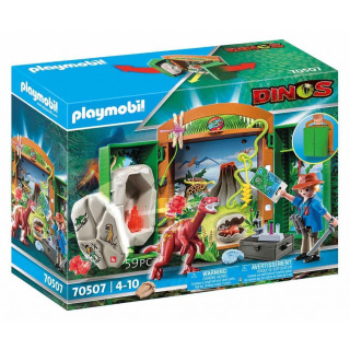 Obrázek 1 produktu Playmobil 70507 Přenosný box Výzkum dinosaurů