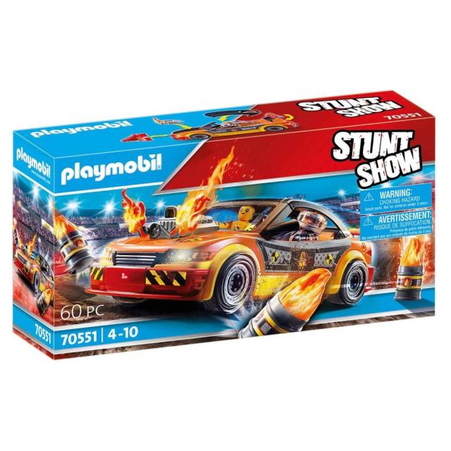 Obrázek produktu Playmobil 70551 StuntShow Crashcar