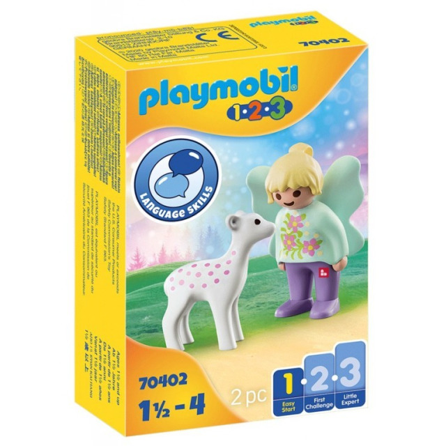 Obrázek produktu Playmobil 70402 Víla s kolouškem (1.2.3)