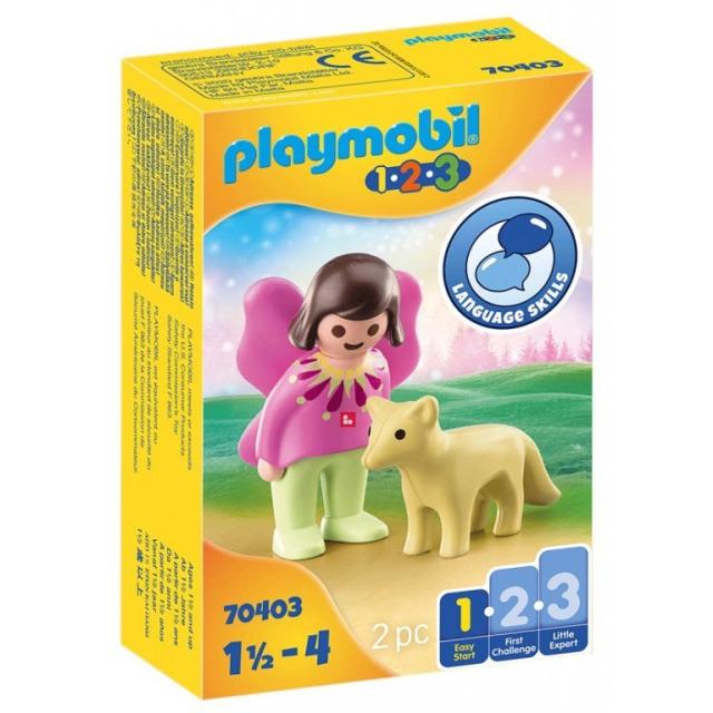 Obrázek produktu Playmobil 70403 Víla s liškou (1.2.3)